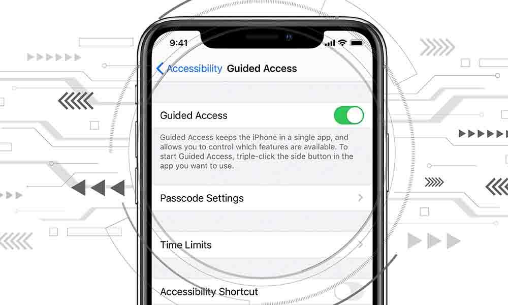 استفاده از Guided Access برای اعمال محدودیت روی صفحه