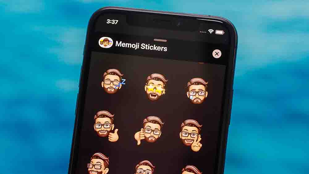 غیرفعالسازی Memoji Stickers