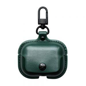 کیس و محافظ چرم برای ایرپاد پرو - برند جینیا - اپل مارکت - به رنگ آبی -1